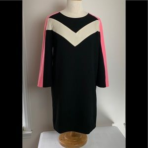 Essential Antwerp Lianna Color Block shift dress